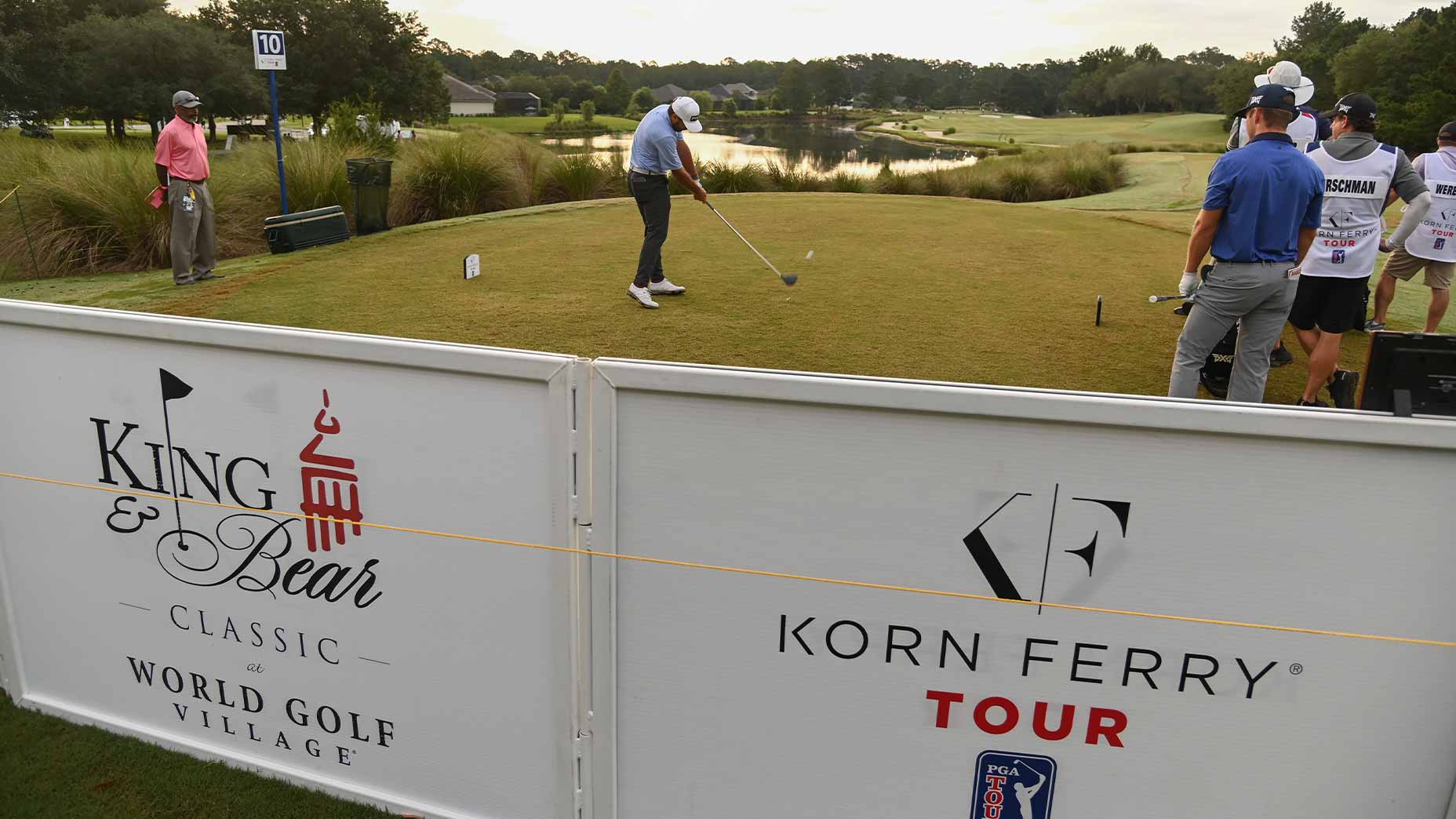 players tee off korn ferry tour