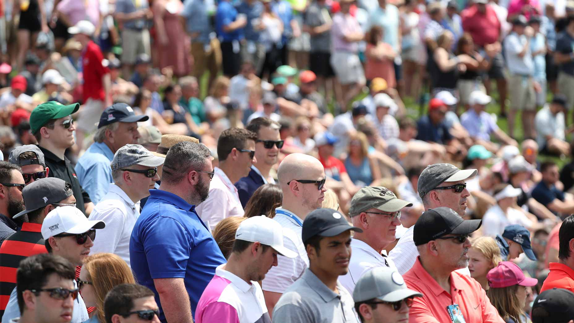 fans gather memorial tournament