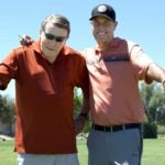 With the help of Steve Heller's golf-specific program, Mike Boze (left) finally returned to the golf course.