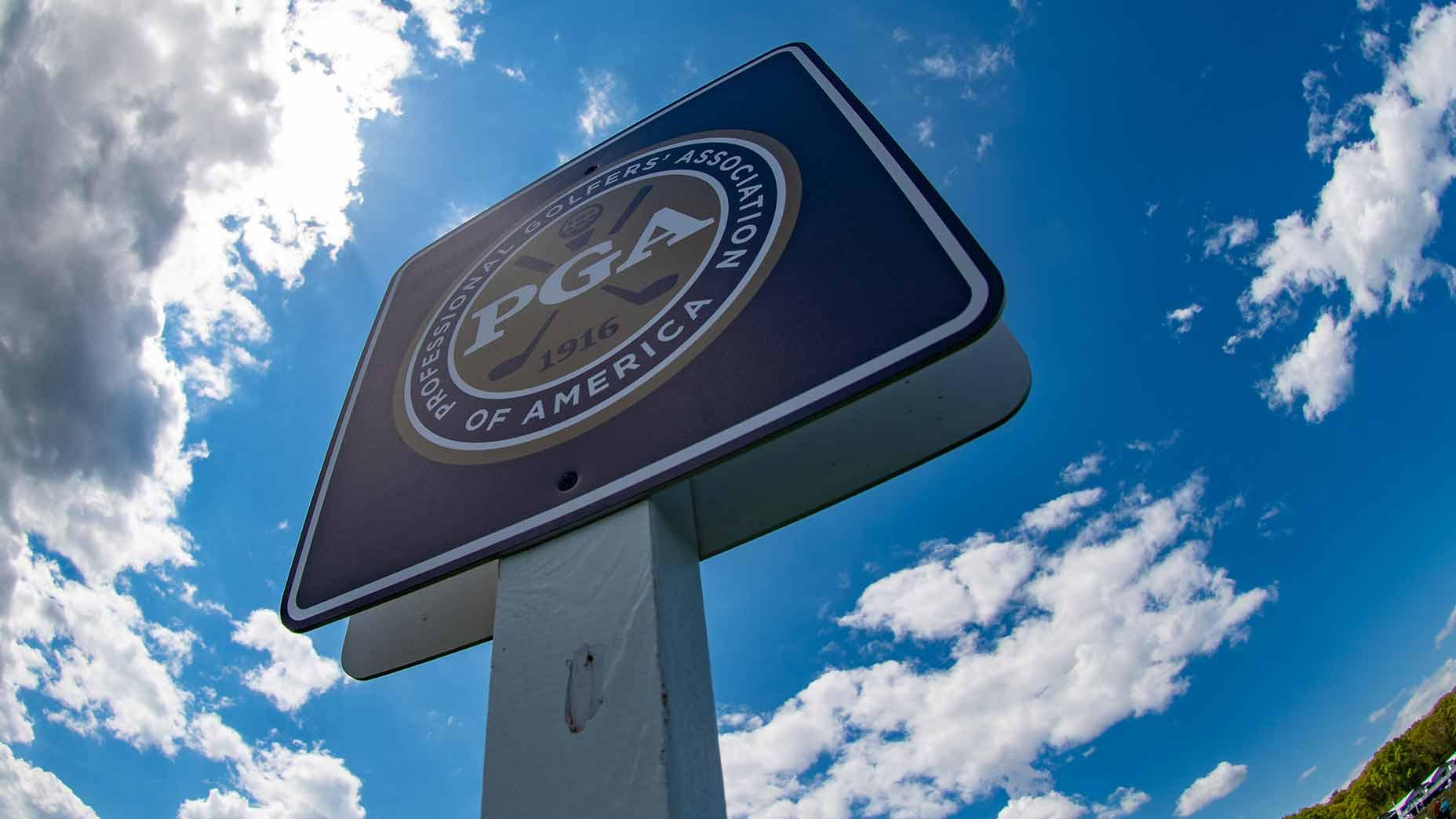 PGA of America sign