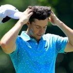 rory mcilroy looks in disbelief