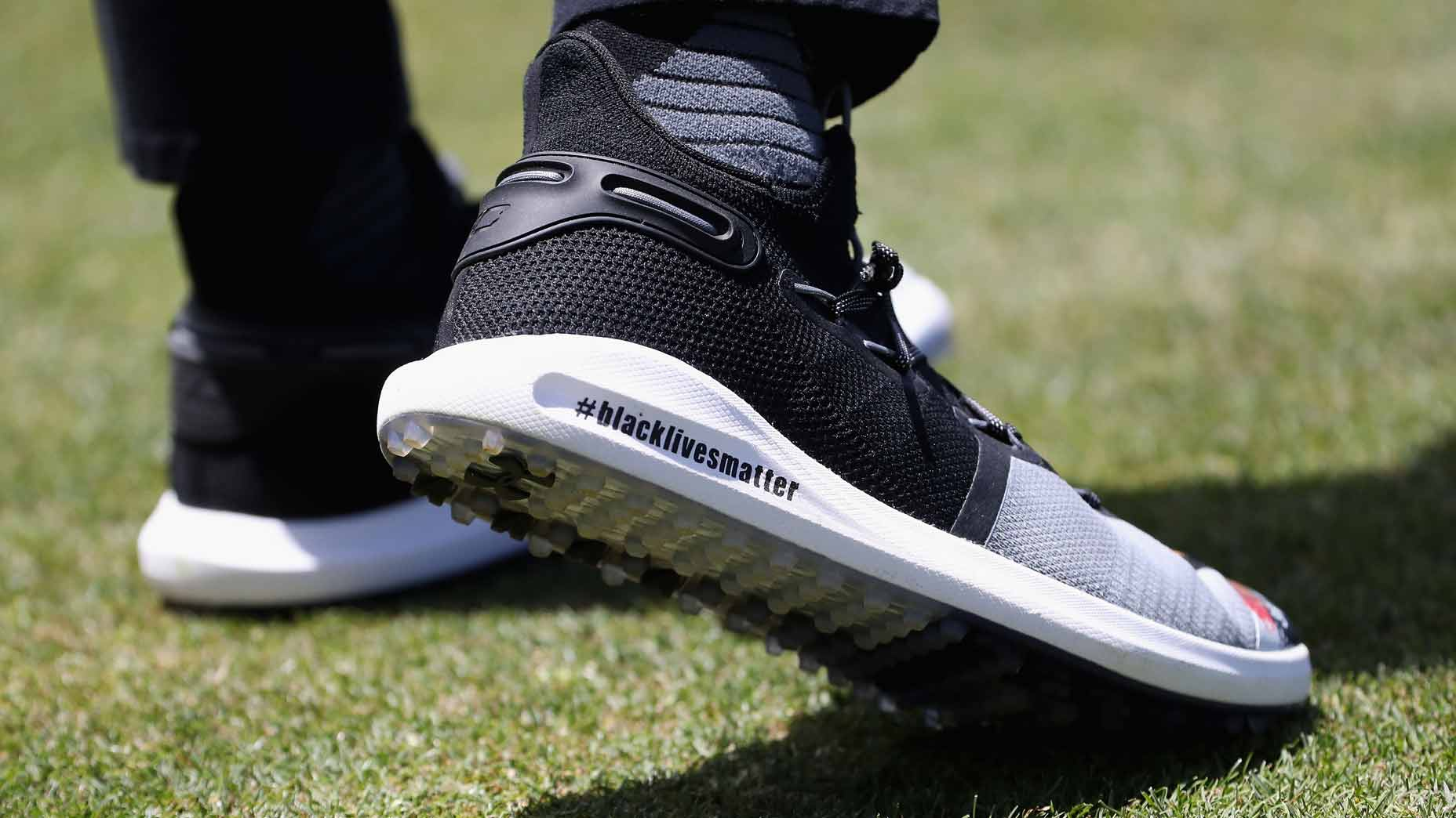 Steph Curry Dons Custom Golf Shoes To Honor Breonna Taylor At Golf Event