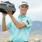 will zalatoris with tpc colorado championship trophy