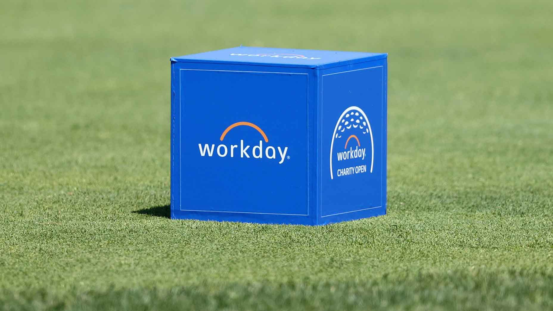 WorkDay Charity Open tee marker