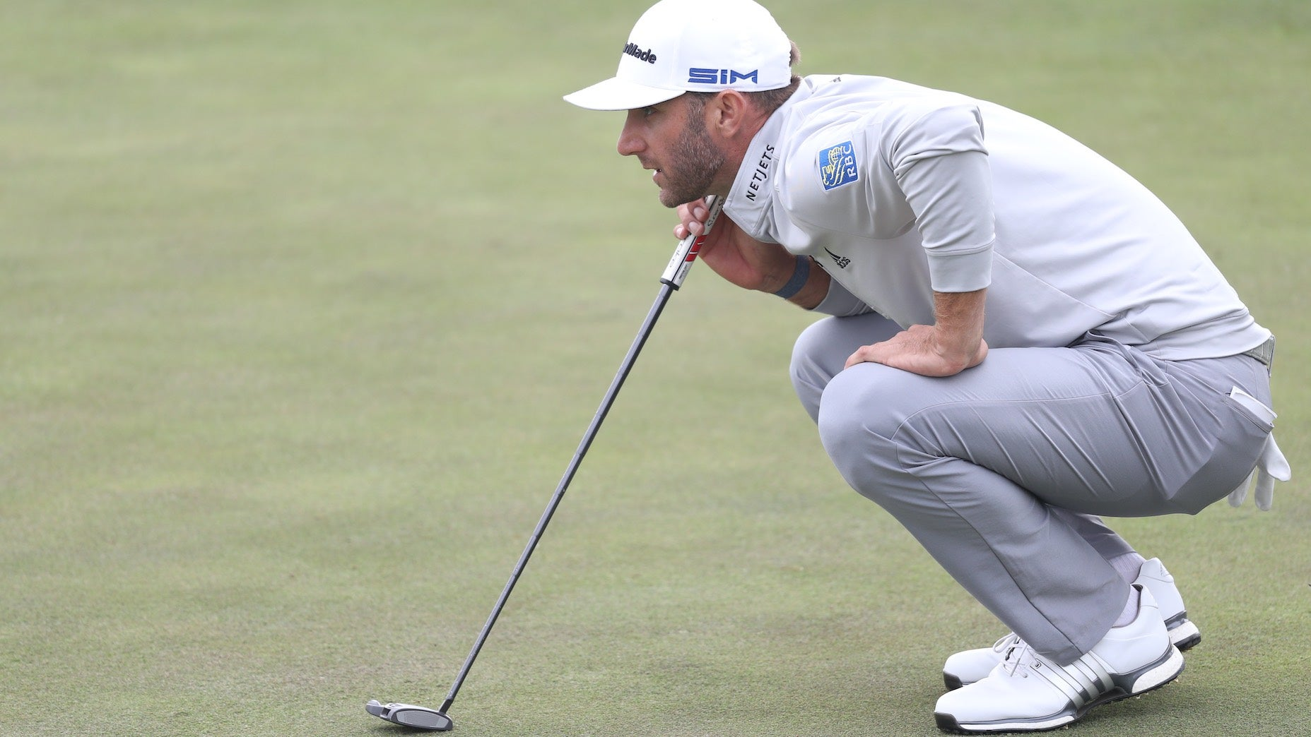 dustin johnson putter