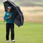 Lydia Ko tackled the weather on