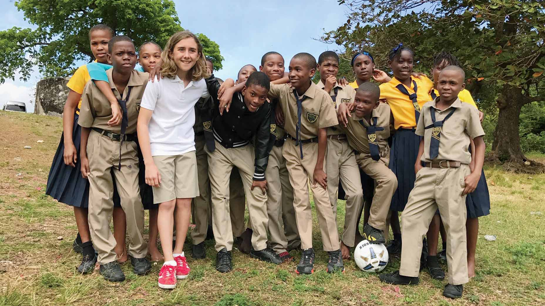 Rafe Cochran in Haiti