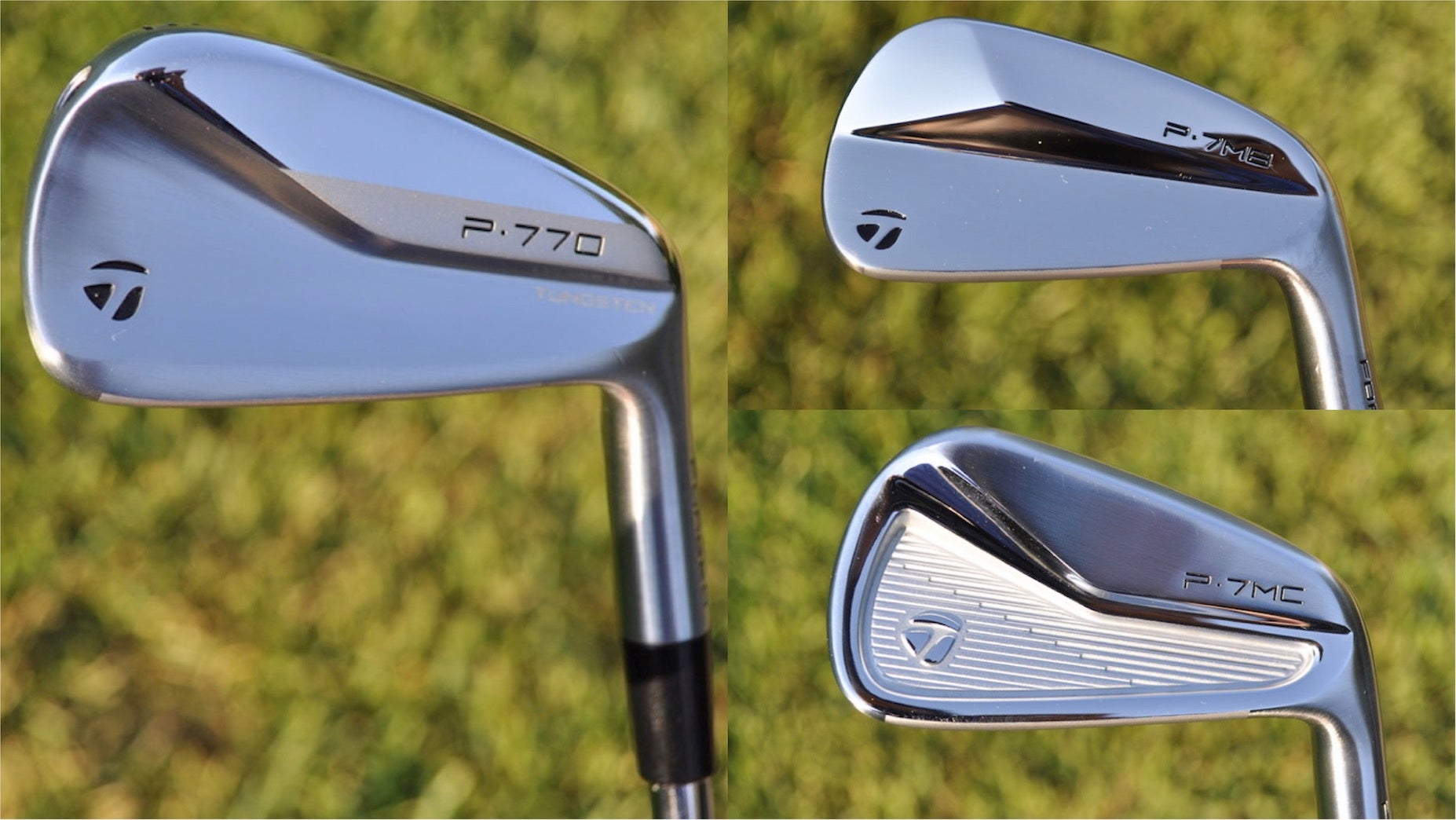 ClubTest: We put TaylorMade's new P7MB, P7MC and P770 irons to the test on a launch monitor