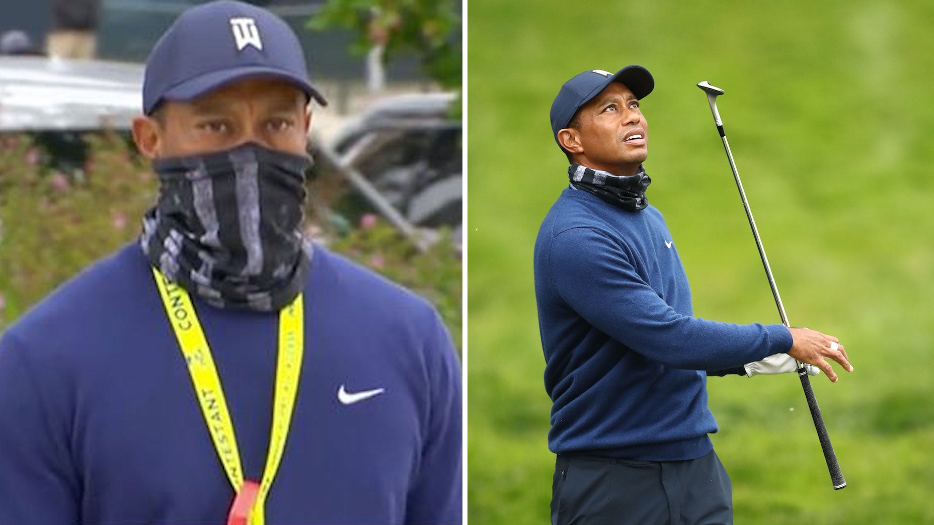tiger woods mask