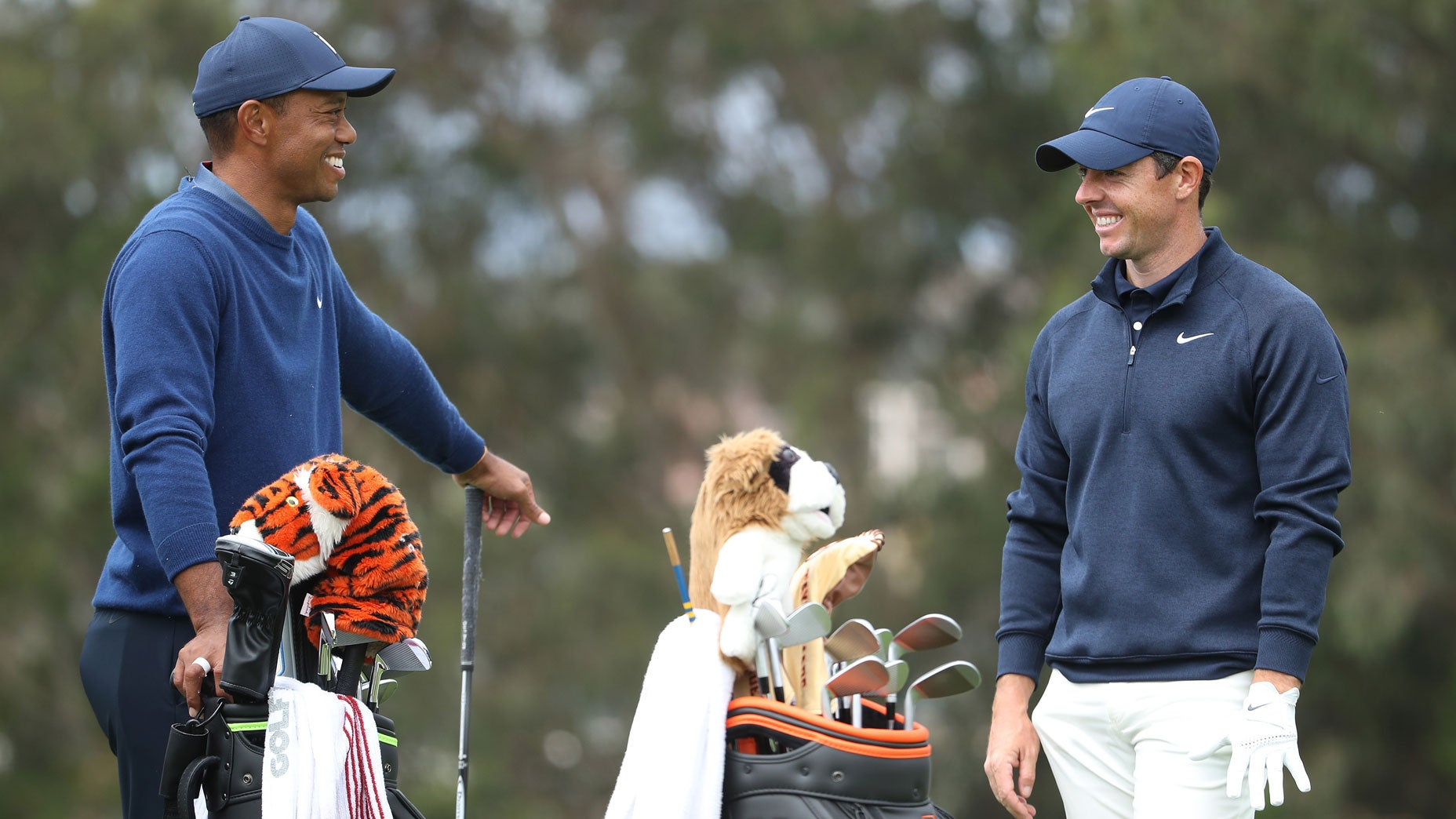 Here's what Tiger Woods told Rory McIlroy in fascinating hot-mic conversation