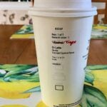 Tiger Woods' coffee order is actually pretty good