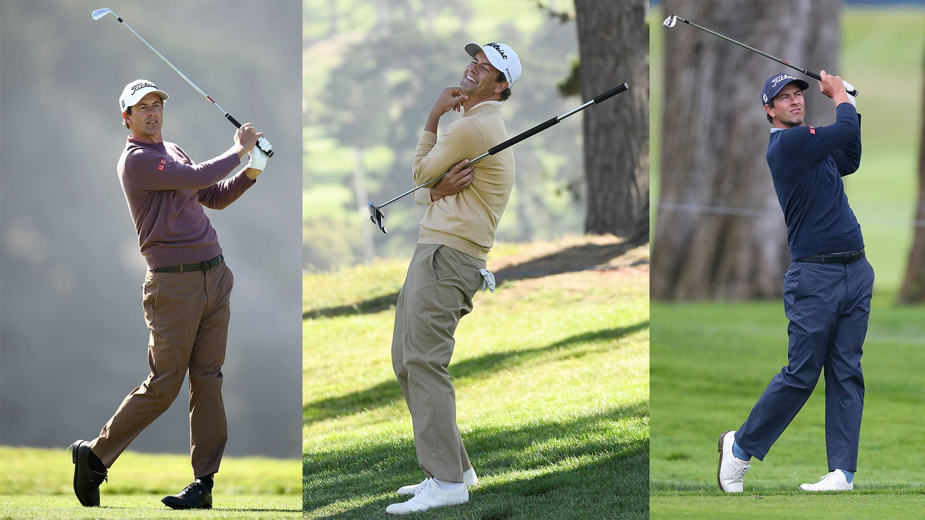 In defense of Adam Scott's monochrome PGA Championship look