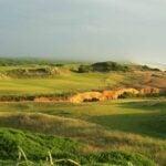The par-4 16th hole at Bandon Dunes