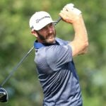 dustin johnson swings driver bmw championship 2020