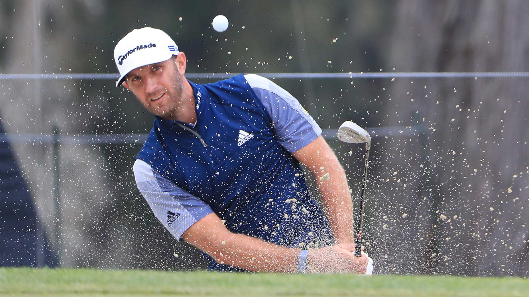 Dustin Johnson bunker