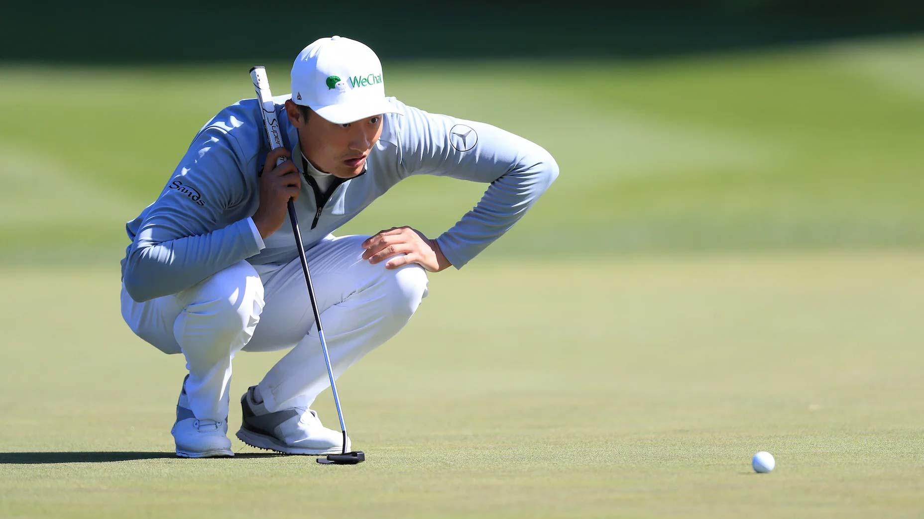 Pro golfer Haotong Li
