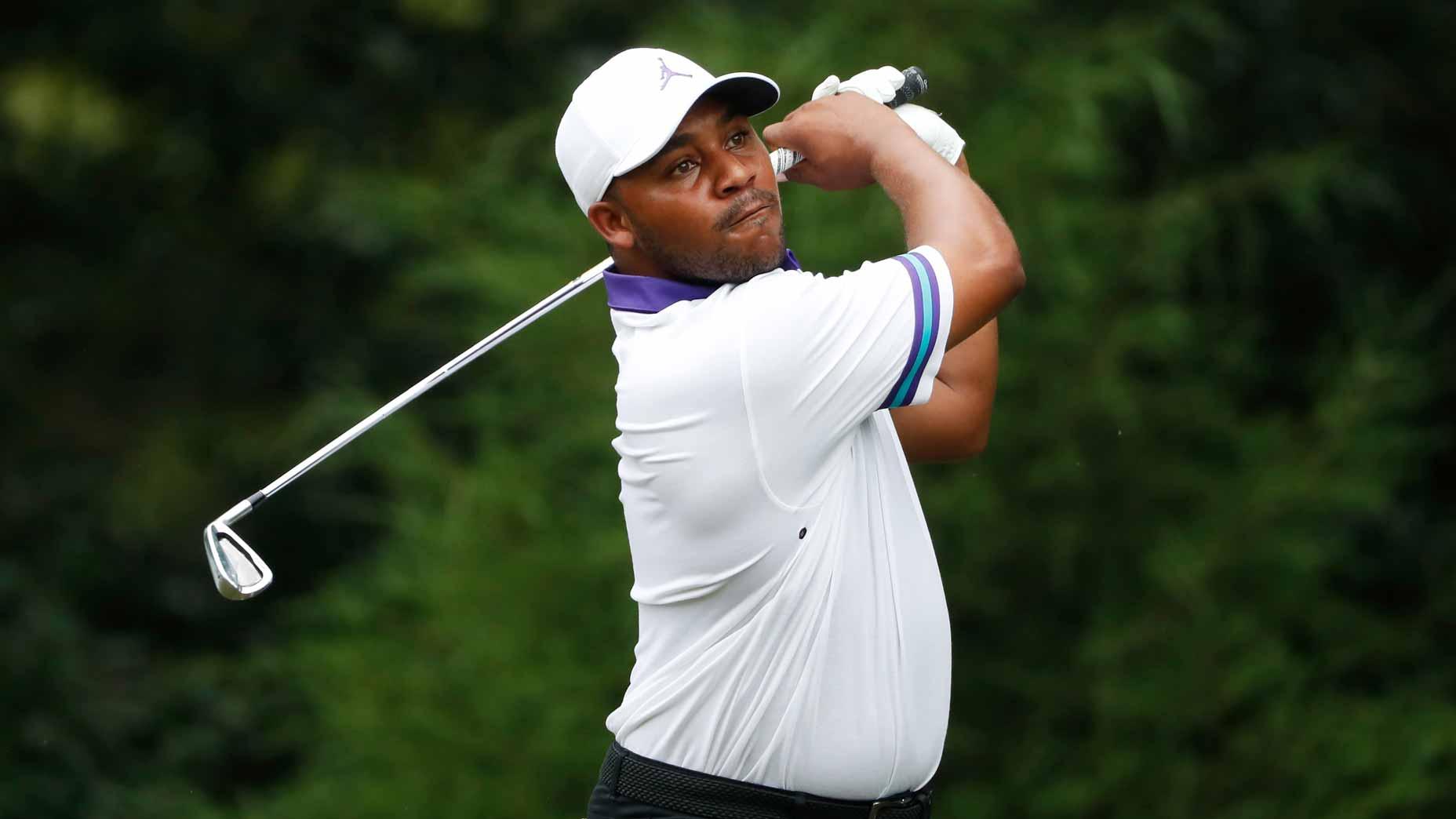Pro golfer Harold Varner III