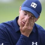 jordan spieth frustrated