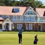 Muirfield golf in Scotland