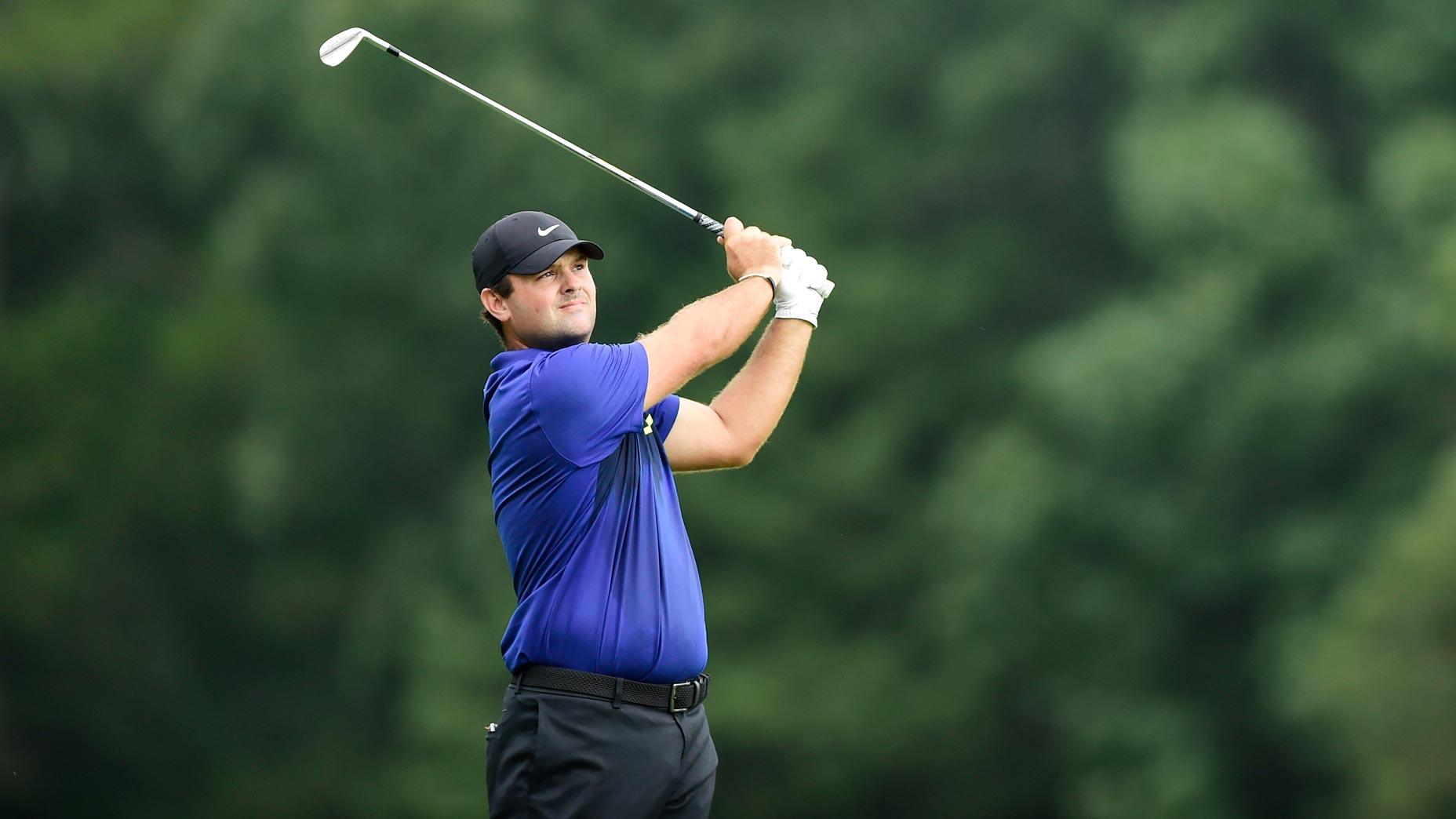Pro golfer Patrick Reed at 2020 Wyndham Championship