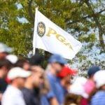 PGA Championship flag at tournament