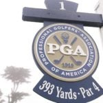 PGA Championship hole sign at TPC Hardin Park