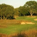 The 6th hole at Prairie Dunes.