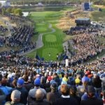 first tee at the ryder cup