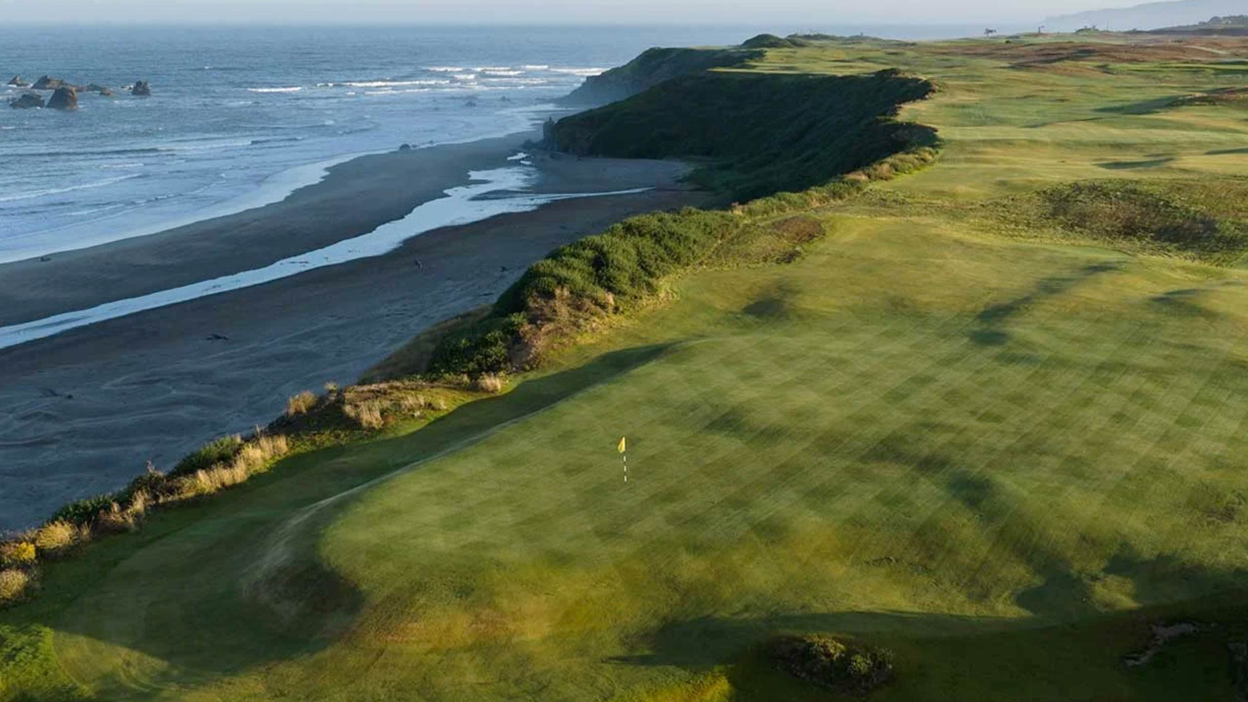 A view of the Sheep Ranch at Bandon Dunes.