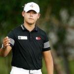 Pro golfer Si Woo Kim