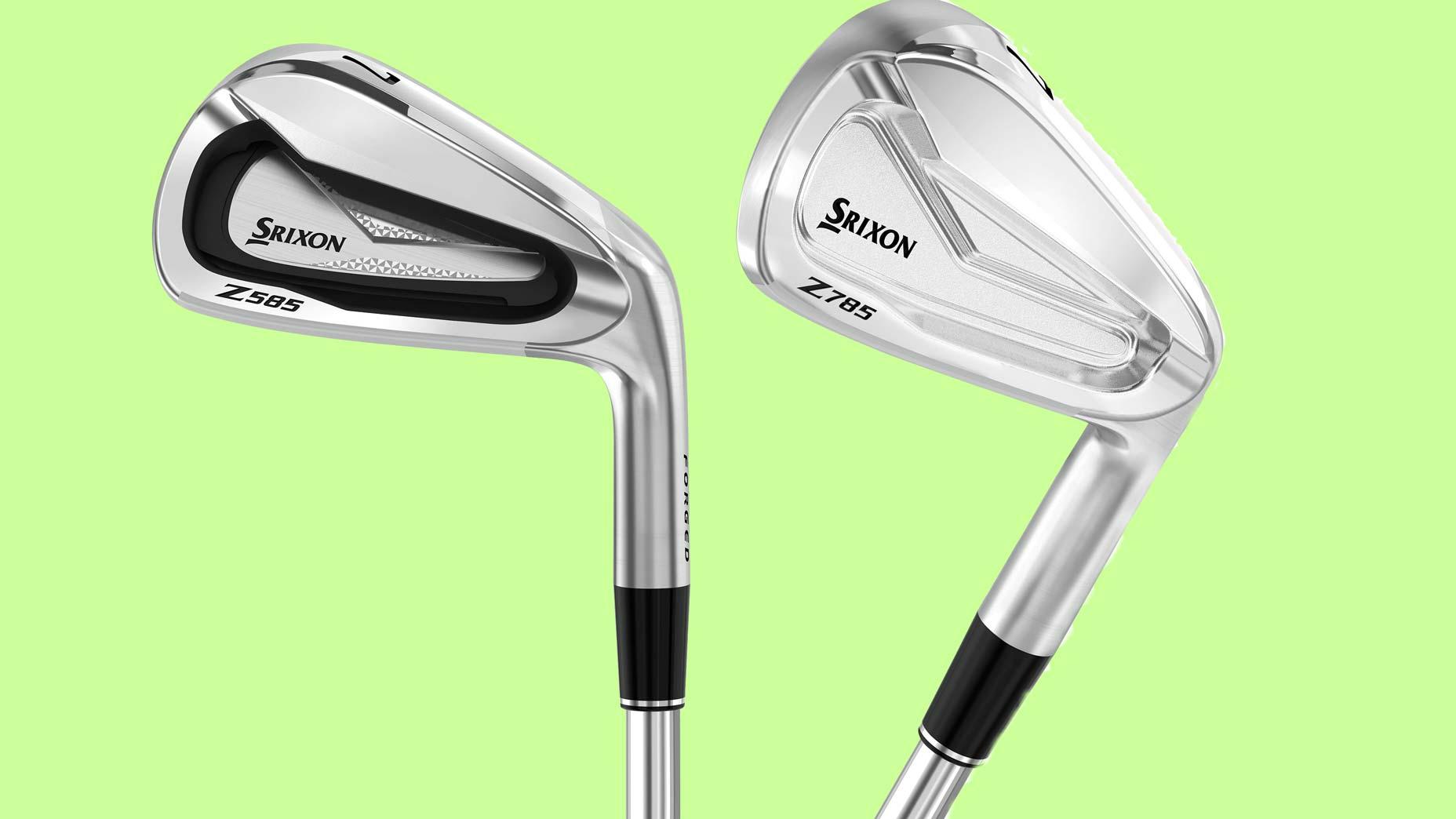 Srixon Z585 and Z785 irons
