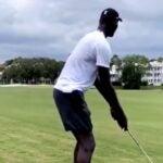 tacko fall golf club