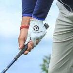 Golf grip at setup