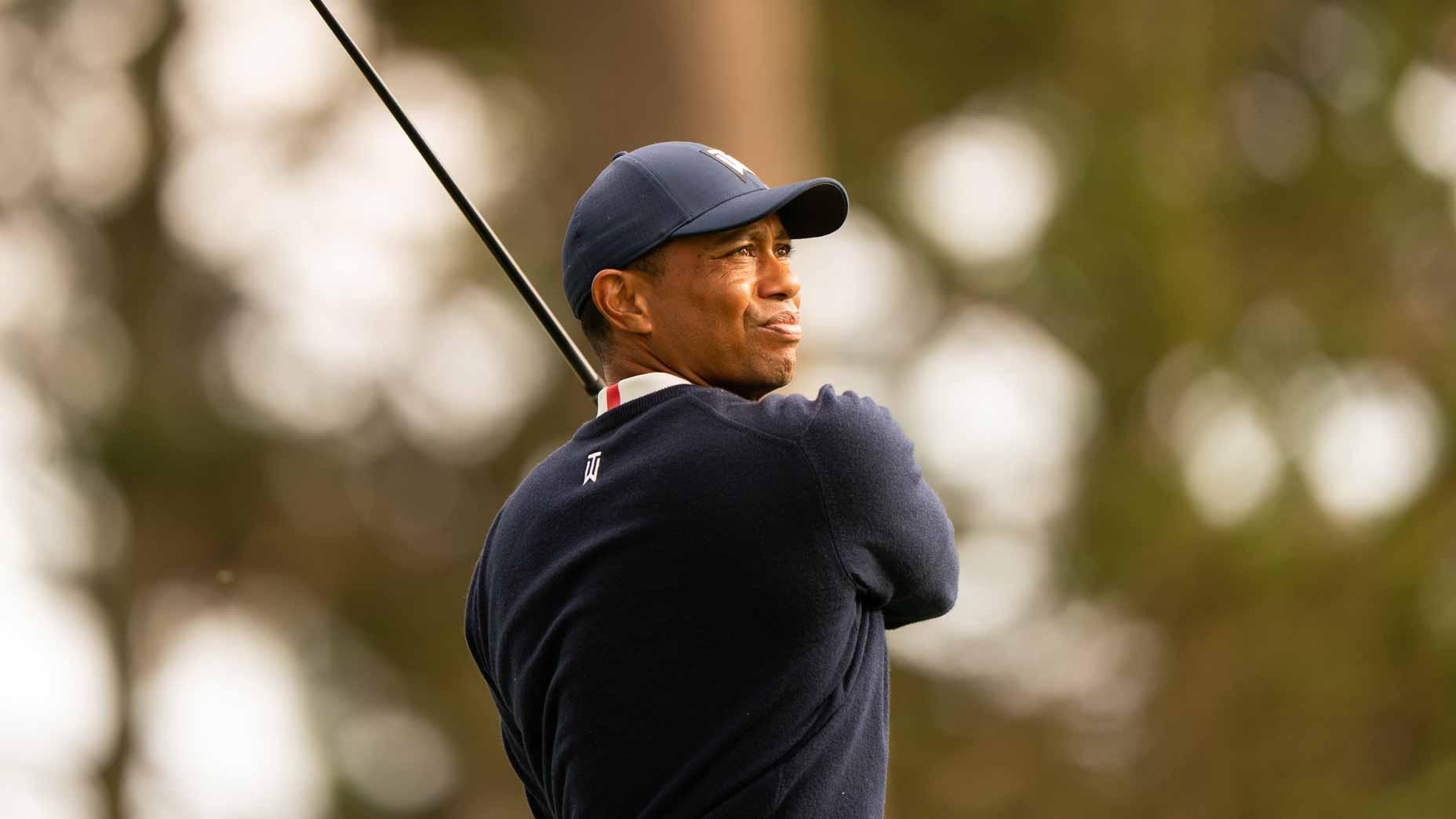 Pro golfer Tiger Woods at PGA Championship