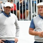 Tony Finau and Bryson DeChambeau