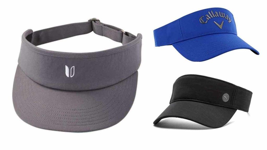 three visors