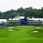 Sedgefield Country Club during Wyndham Championship
