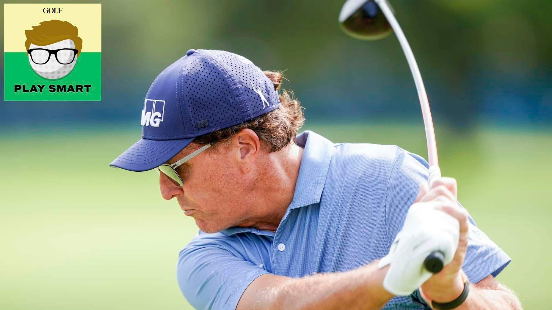 This is Phil Mickelson's 3-step formula for when he *needs* to drive the ball straight