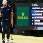 dustin johnson taylormade tour championship