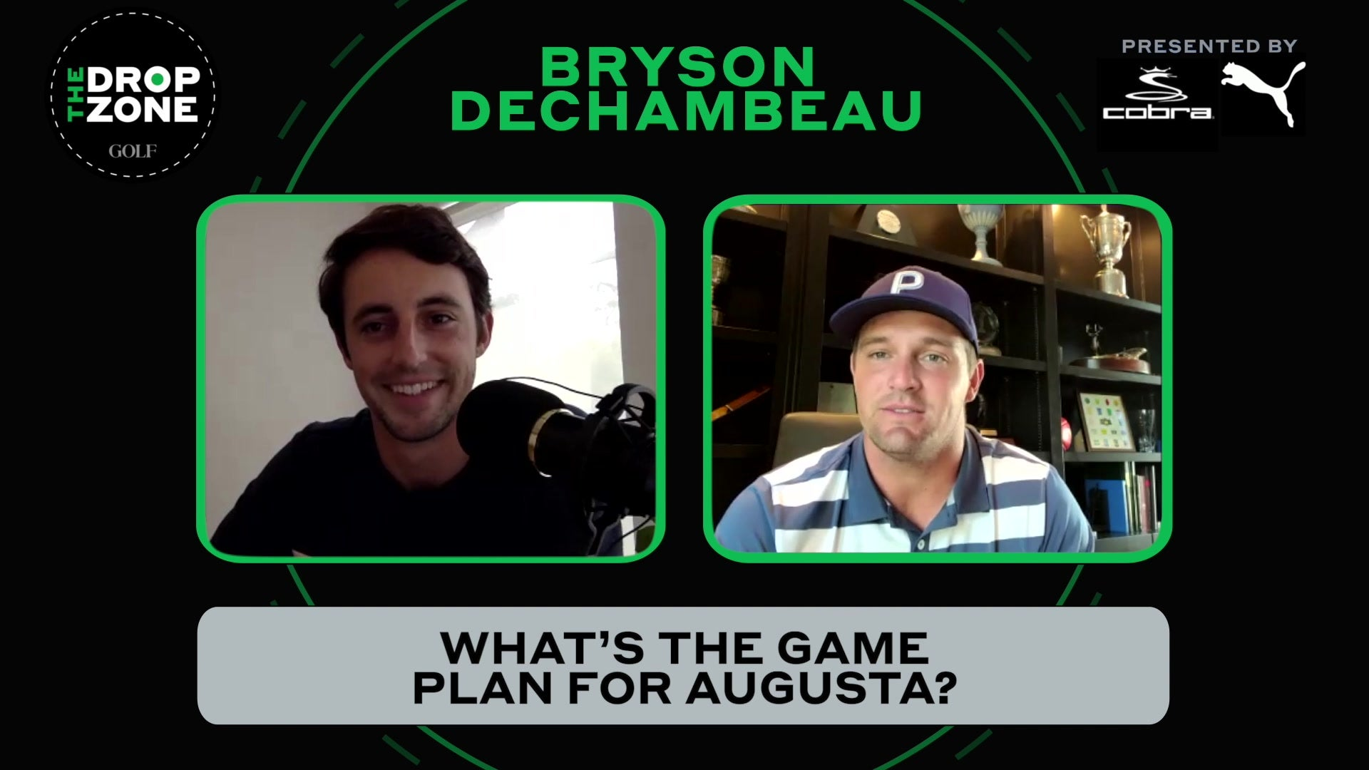 What does Bryson DeChambeau think when people say he's 'breaking golf'?