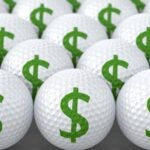 Golf ball money