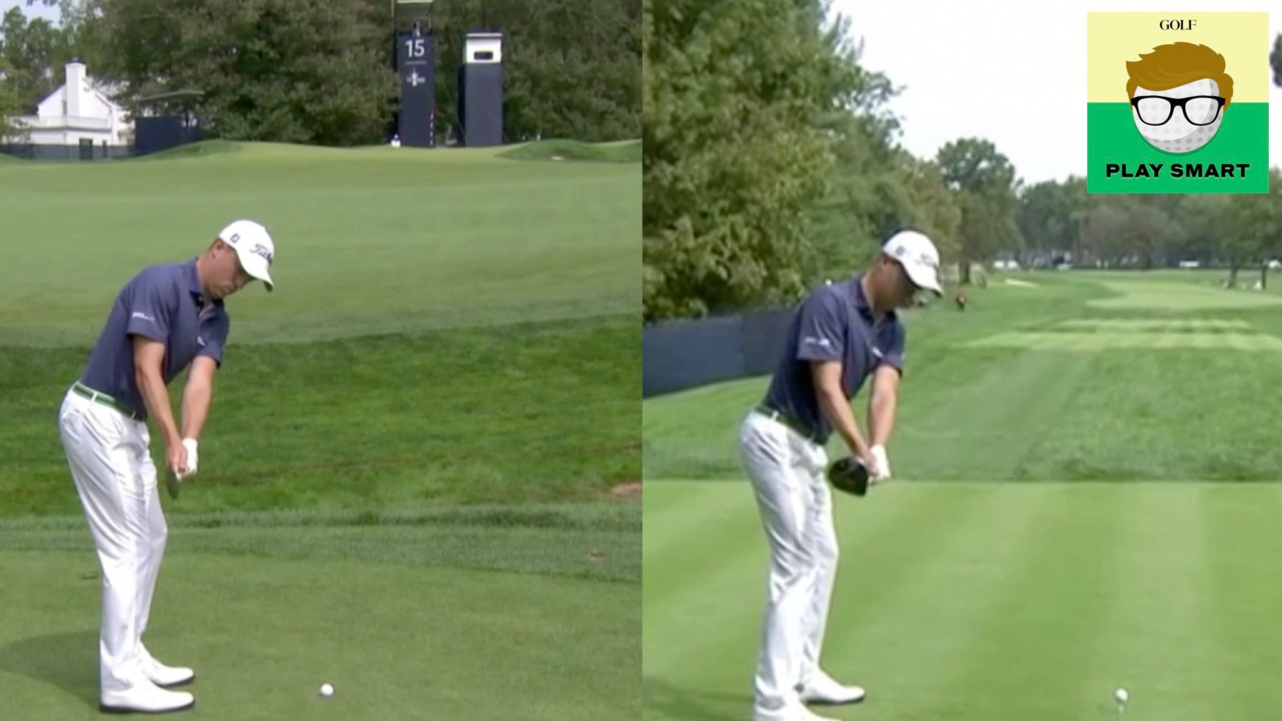 Justin Thomas' pre-shot takeaway drill, explained
