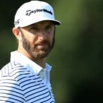 dustin johnson stares