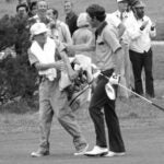 peter mcgarey and hale irwin at 1974 u.s. open