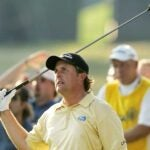 Phil Mickelson at 2006 U.S. Open at WInged Foot