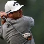 Pro golfer Sam Burns