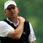 thomas bjorn with shoulder pain