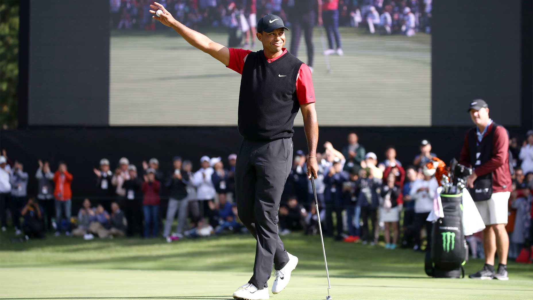 Tiger Woods wins the Zozo Championship.