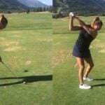 underarms on backswing