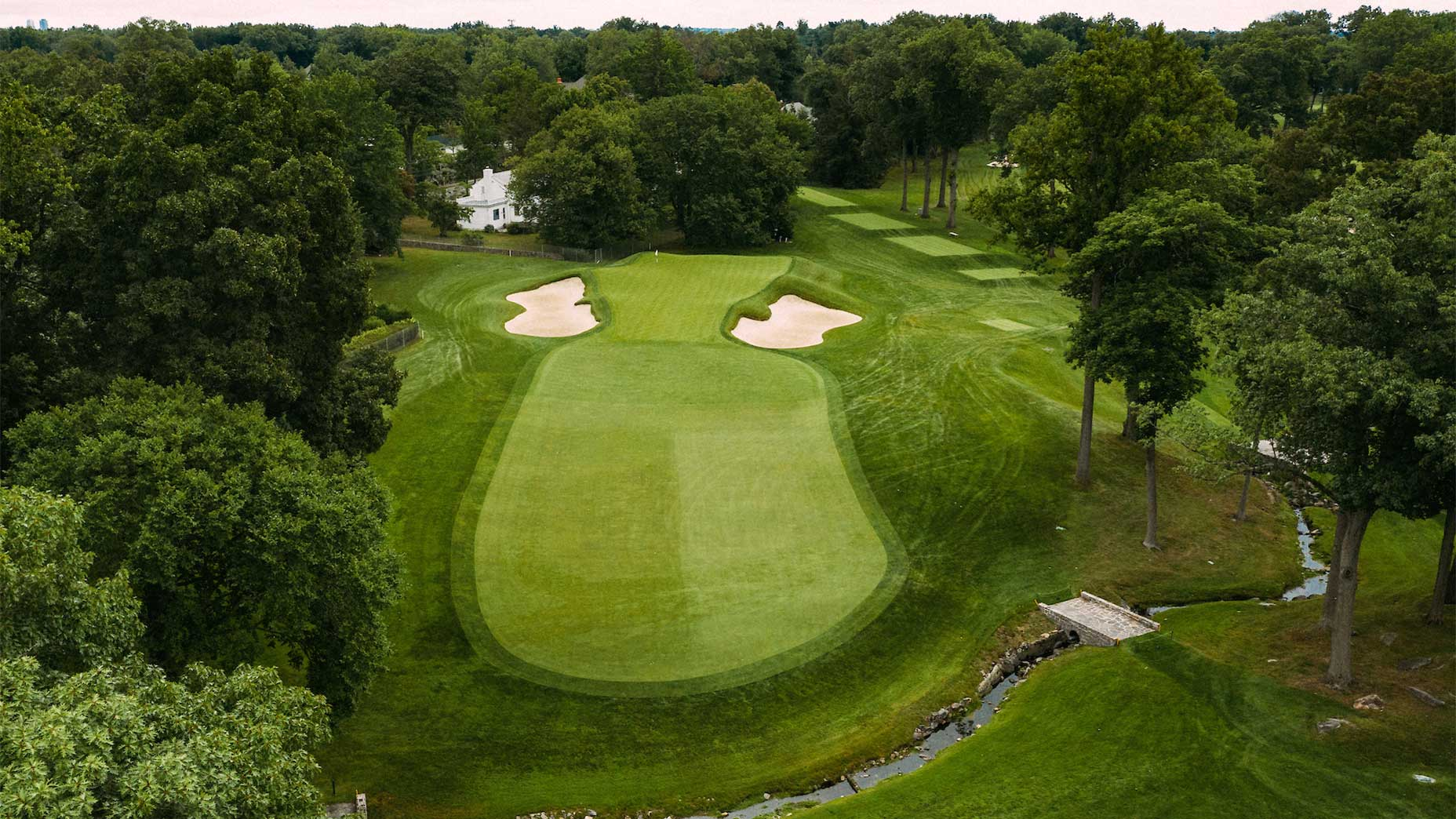 The 15th hole at Winged Foot.